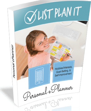 Personal ePlanner | ListPlanIt.com