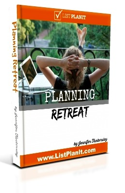 Planning Retreat ePlanner | ListPlanIt.com