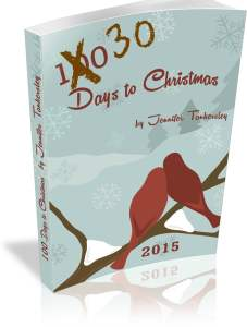 30 Days to Christmas 2015 eBook