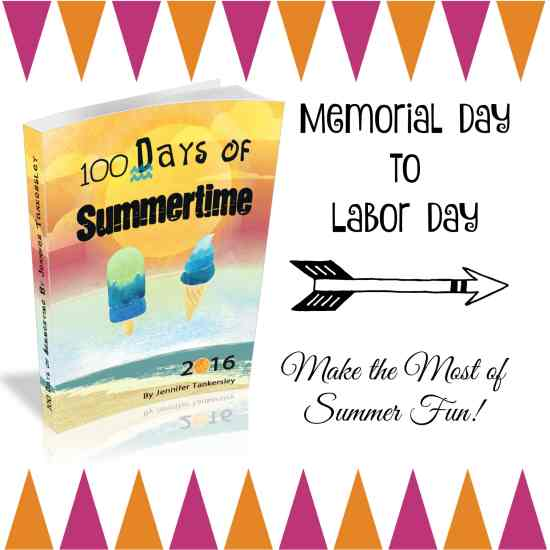 100 Days of Summertime 2016 eBook