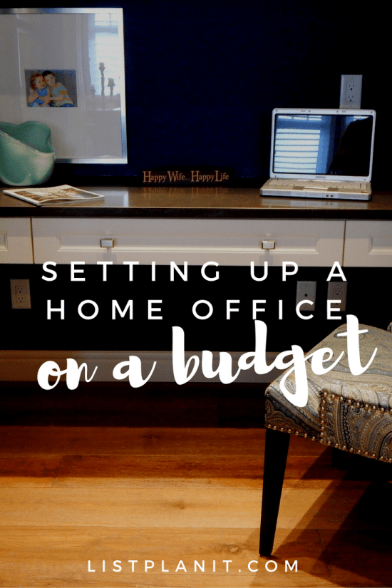 Setting Up a Home Office on a Budget