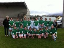 Listry/Milltown U14 Girls Team 2012