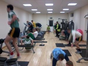 senior team training