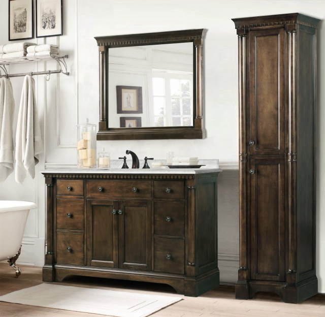 Many people are looking for new bathroom vanities to remodeling