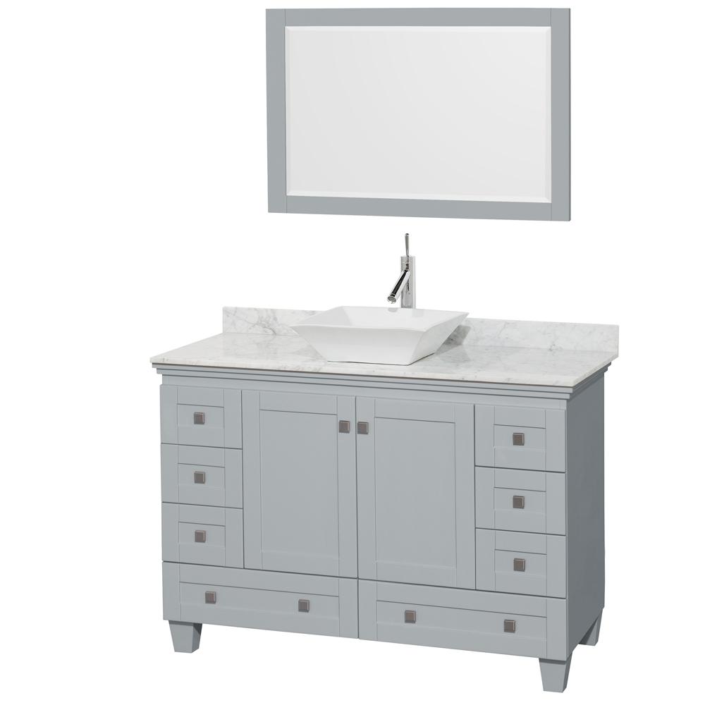 acclaim 48 single bathroom vanity in