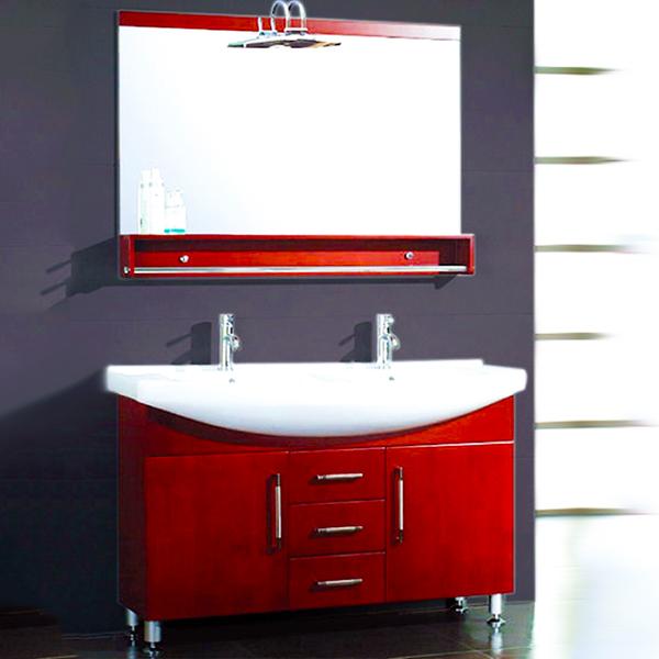 48 inch double sink bathroom vanity set