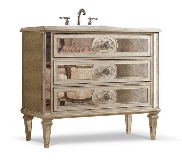 olivia 42 inch chest bathroom vanitycole & co. designer series