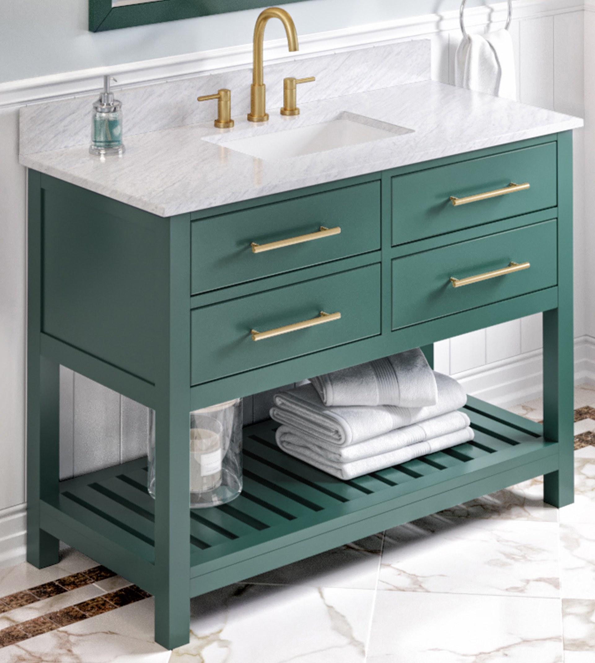 bathroom vanities by size 43 48 inches