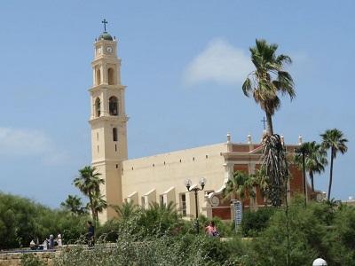 <div>Kościół w Jaffie</div>