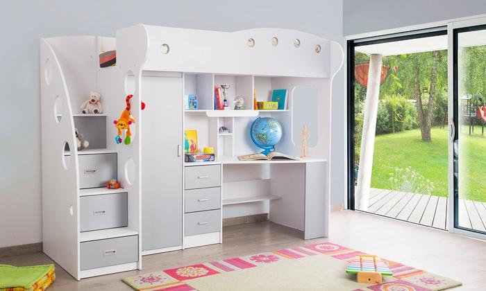 Comparatif meilleur lit mezzanine avec bureau