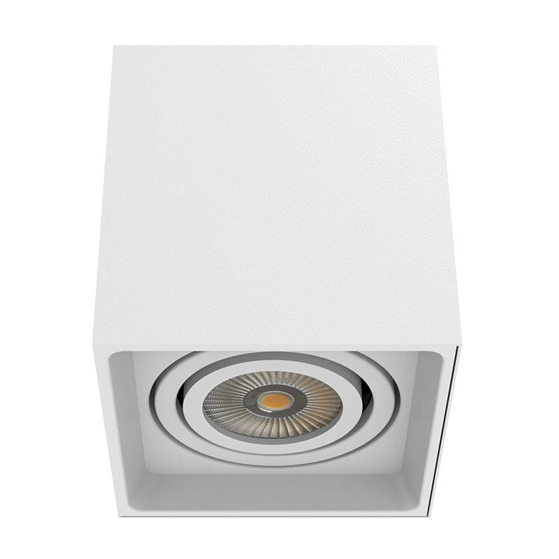 Surface Mounted Square Shape LED Downlight With 1 Lamps