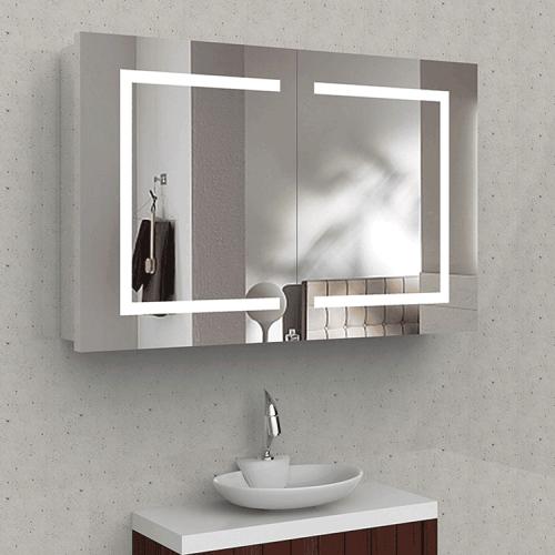 Bathroom Mirror Cabinet with Lights