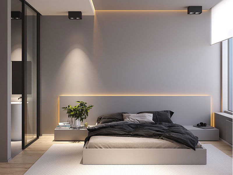 Surface Mounted Lighting for Living Room