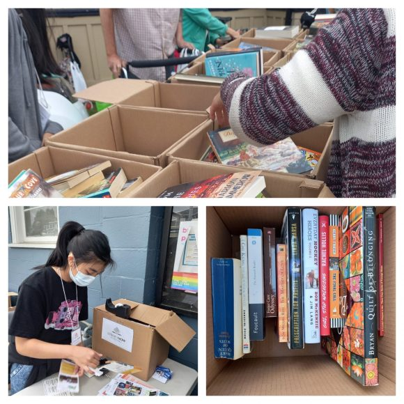 An amazing week of book giveaways. Fantastic Job to all of our amazing volunteers!