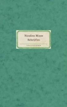 Omslag Schrijfles (POD) - Nicolien Mizee