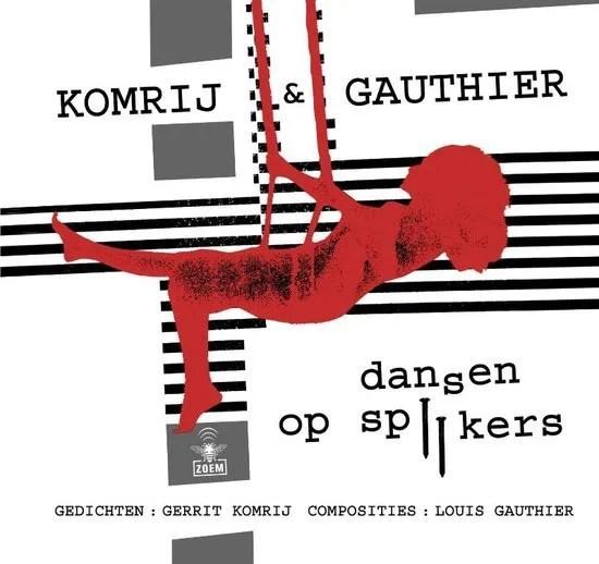 Omslag Dansen op spijkers - Gerrit Komrij
