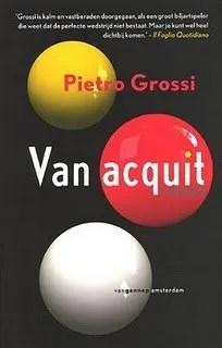 Omslag Van Acquit - Pietro Grossi