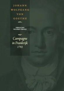 Omslag Campagne in Frankrijk 1792  -  Johann Wolfgang von Goethe