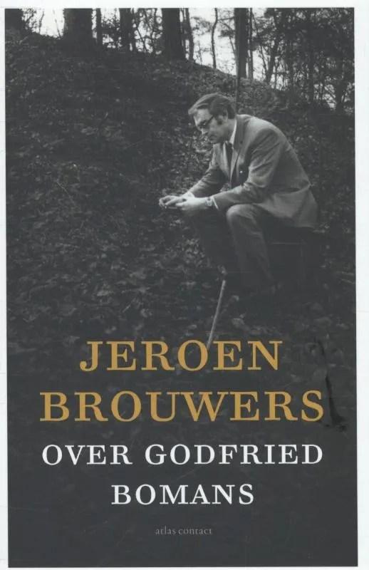 Omslag Over Godfried Bomans  -  Jeroen Brouwers