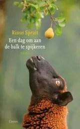 Omslag Een dag om aan de balk te spijkeren  -  Rinus Spruit