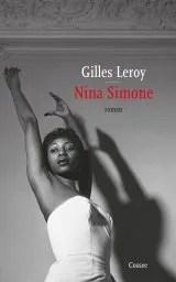 Omslag Nina Simone - Gilles Leroy