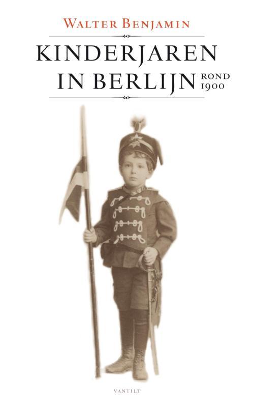 Omslag Kinderjaren in Berlijn - Walter Benjamin