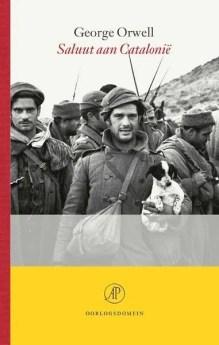 Omslag Saluut aan Catalonië - George Orwell