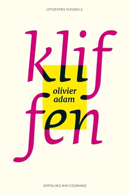 Omslag Kliffen - Olivier Adam