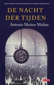 Omslag De nacht der tijden - Antonio Muñoz Molina