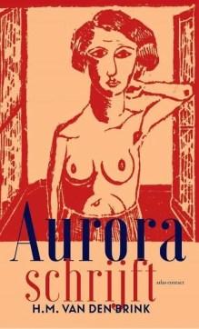 Omslag Aurora schrijft - H.M. van den Brink
