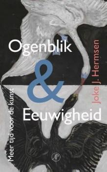 Omslag Ogenblik & eeuwigheid - Joke J. Hermsen
