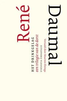 Omslag Het drinkgelag - Een trilogie van de dorst - René Daumal