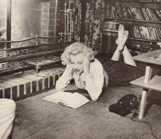 marilyn lee en casa de natasha lytess