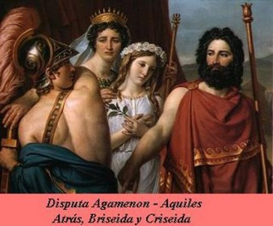 Briseida y Aquiles