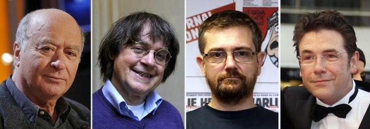 Dibujantes Wolinski, Charb, Cabu y Tignous entre las víctimas.