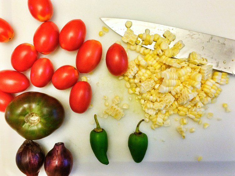Salsa whole ingredients