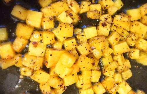Butternut Squash for Mac & Cheese