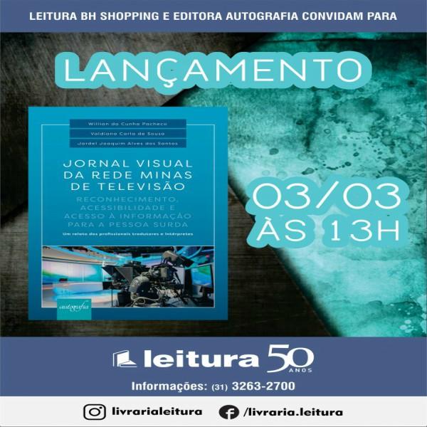 Capa do livro Jornal Visual com data de lançamento