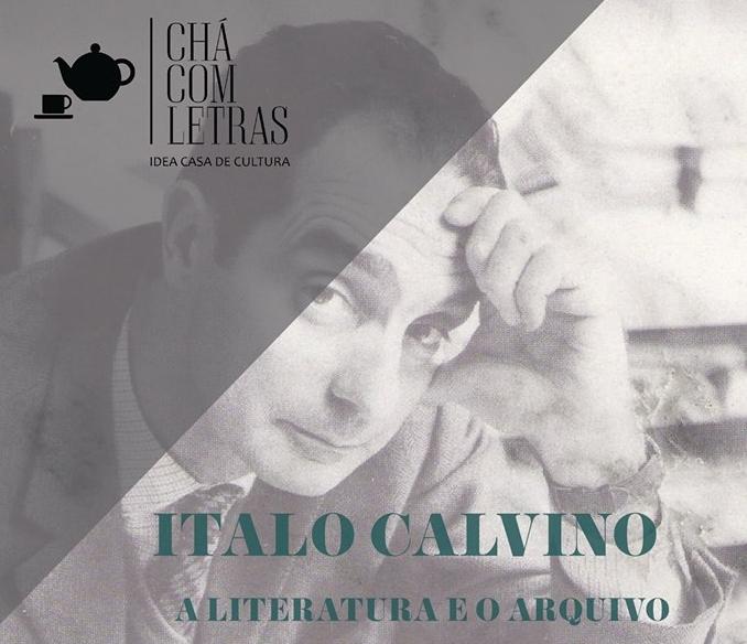 Chá Com Letras Italo Calvino