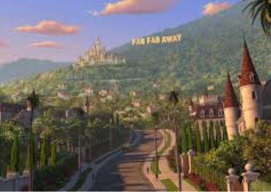 cidade Tão tão distante filme do shrek
