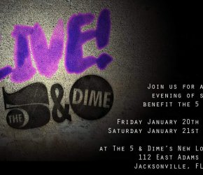 LIVE at The 5 & Dime: An Evening of Song