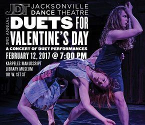 Jacksonville Dance Theatre's Duets for Valentine's Day