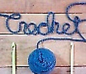 Mixed Media: Crochet Circle