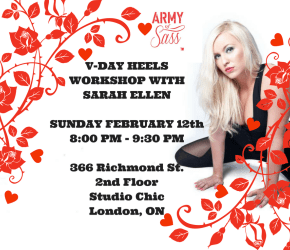 AOS LONDON HEELS V-DAY WORKSHOP