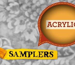 Acrylic Painting Sampler • February 19