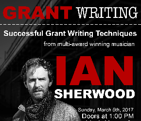 Learn Grant Writing with Ian Sherwood