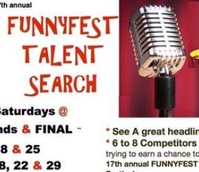 17th Annual FunnyFest Comedy TALENT  SEARCH - Saturdays MARCH & APRIL @ 7 pm