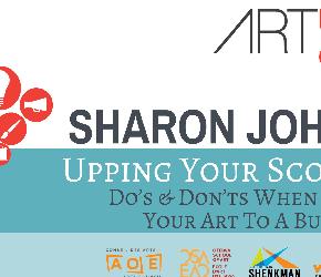 ARTPRENEUR Chat: Upping Your Scorecard with Sharon Johnson