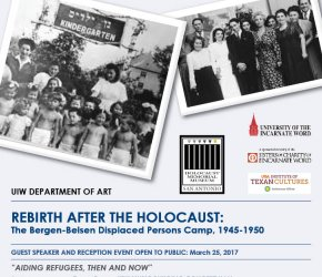 Reception and Speaker Event: Rebirth After Holocaust - Bergen-  Belsen Displaced Persons Camp- 1945-1950