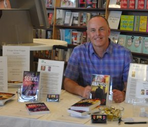 Canada's Newest Thriller Author Colin Knight